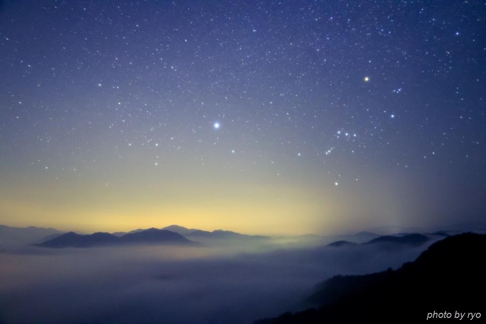 20160116_霧の海と星空と_1