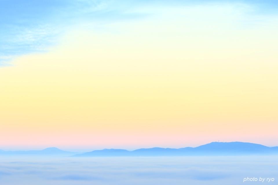 初日の出と霧の海 2016_4