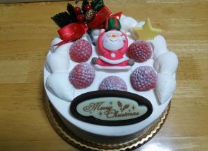 ハタダクリスマスケーキ2015