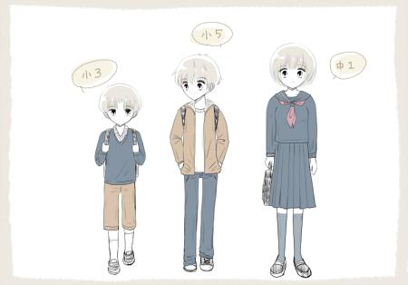 中学生小学生