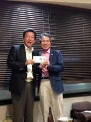 ⑥第12位の高橋 美作会長