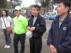 ⑦高橋美作第三副会長の締めの挨拶 『少ないメンバーでご苦労様でした。』