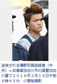 ③礒野和晃(いそのかずあき)(21)が大山真白さんをハンマーで殴り殺す!