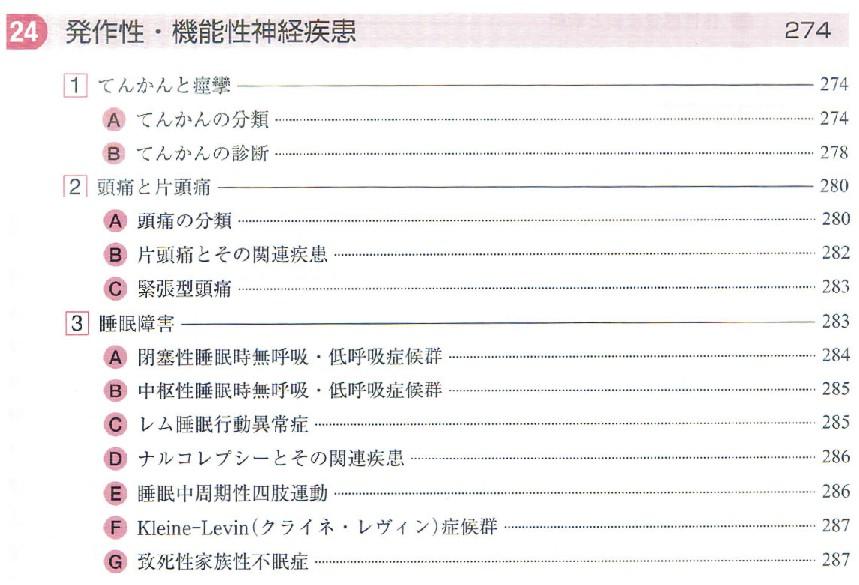 柴崎神経症候2nd目次1