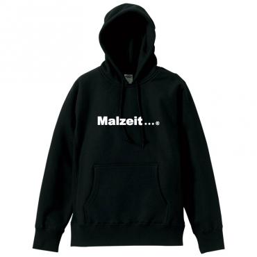 malzeit logo hoodie blk