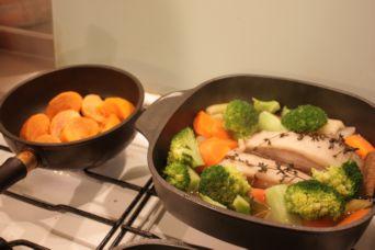 塩豚ハーブの根菜ポトフ2