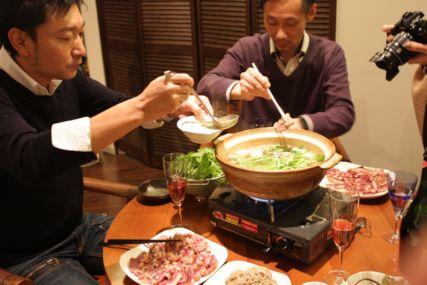 2015Xmas鴨鍋2