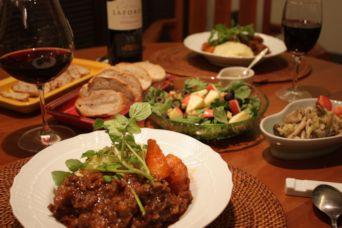 201601牛スジ肉の赤ワイン煮込み4