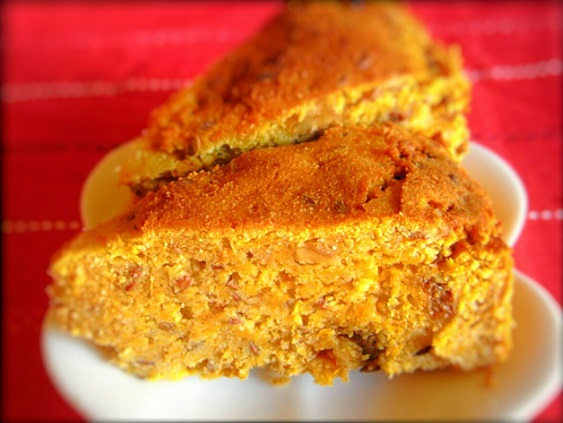 キャロットジンジャースパイスケーキ