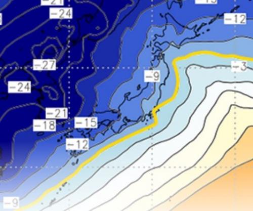 【ニュース】約40年ぶりの大寒波襲来、西日本は3日分の食料確保を