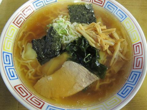 神子田朝市食堂(ワンタンメン)