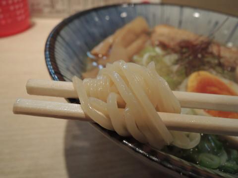 塩味玉の麺