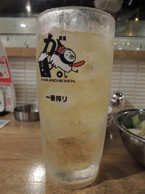 ハイボール男前ガブ飲みジョッキ トニック割(627円)