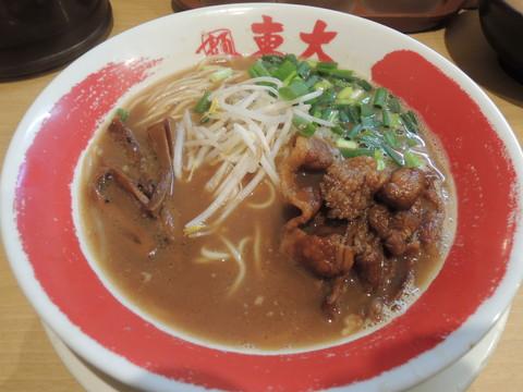ランチセット(徳島ラーメン+チャーハンライス)(700円)