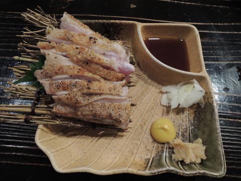 もも肉タタキ(680円)