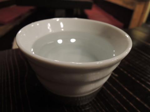 焼酎「やきいも黒瀬(湯割り)」(480円)