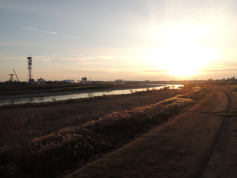 忠節橋からの景色