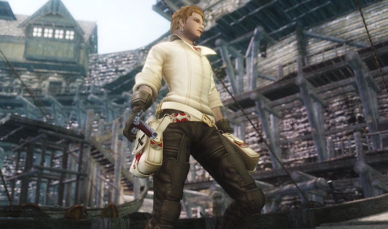 Final Fantasy Tactics Balflear(Balthier) Outfit