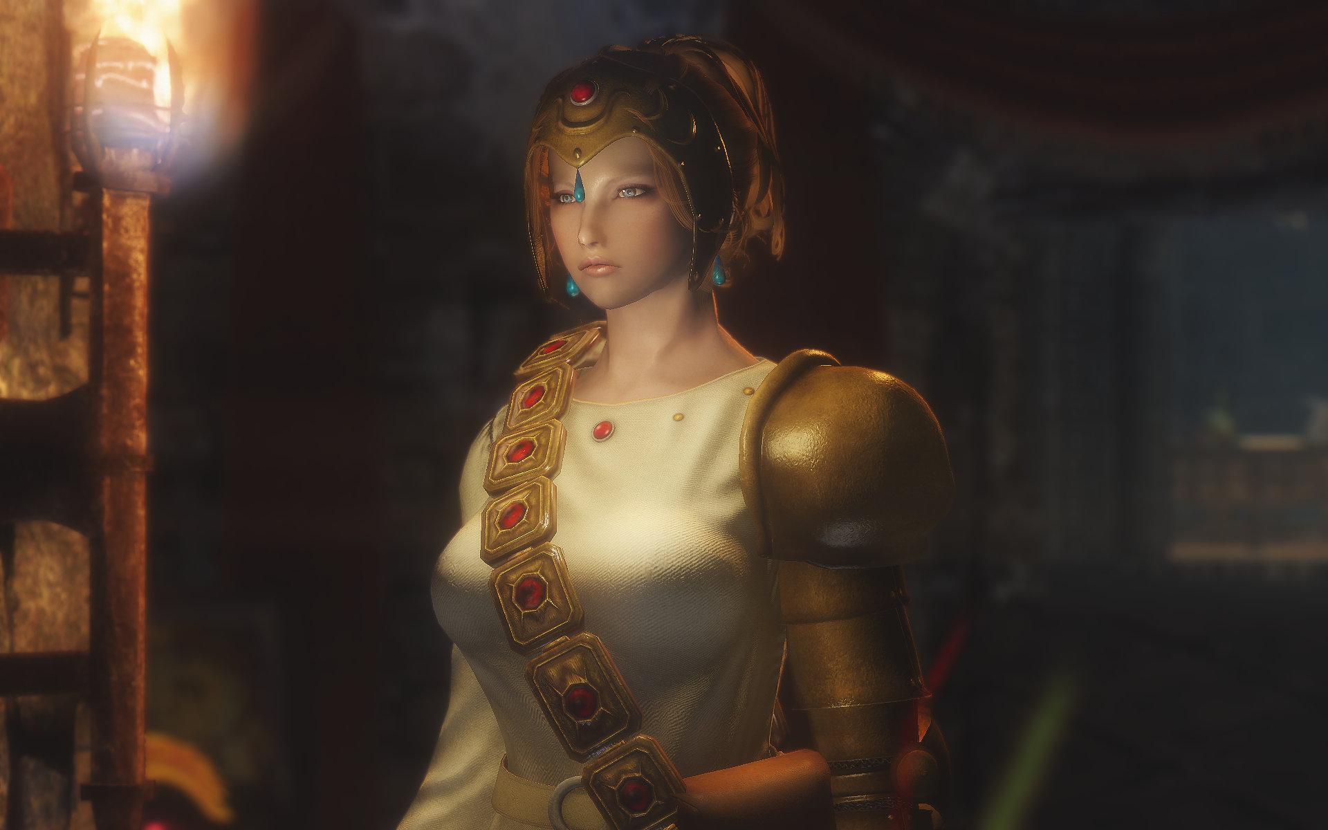 Torumekian White Witch Outfit