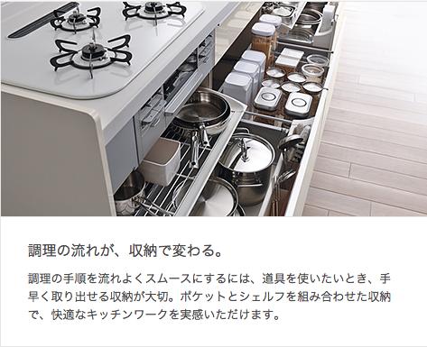 1LIXIL キッチン 〈シエラ〉 特長
