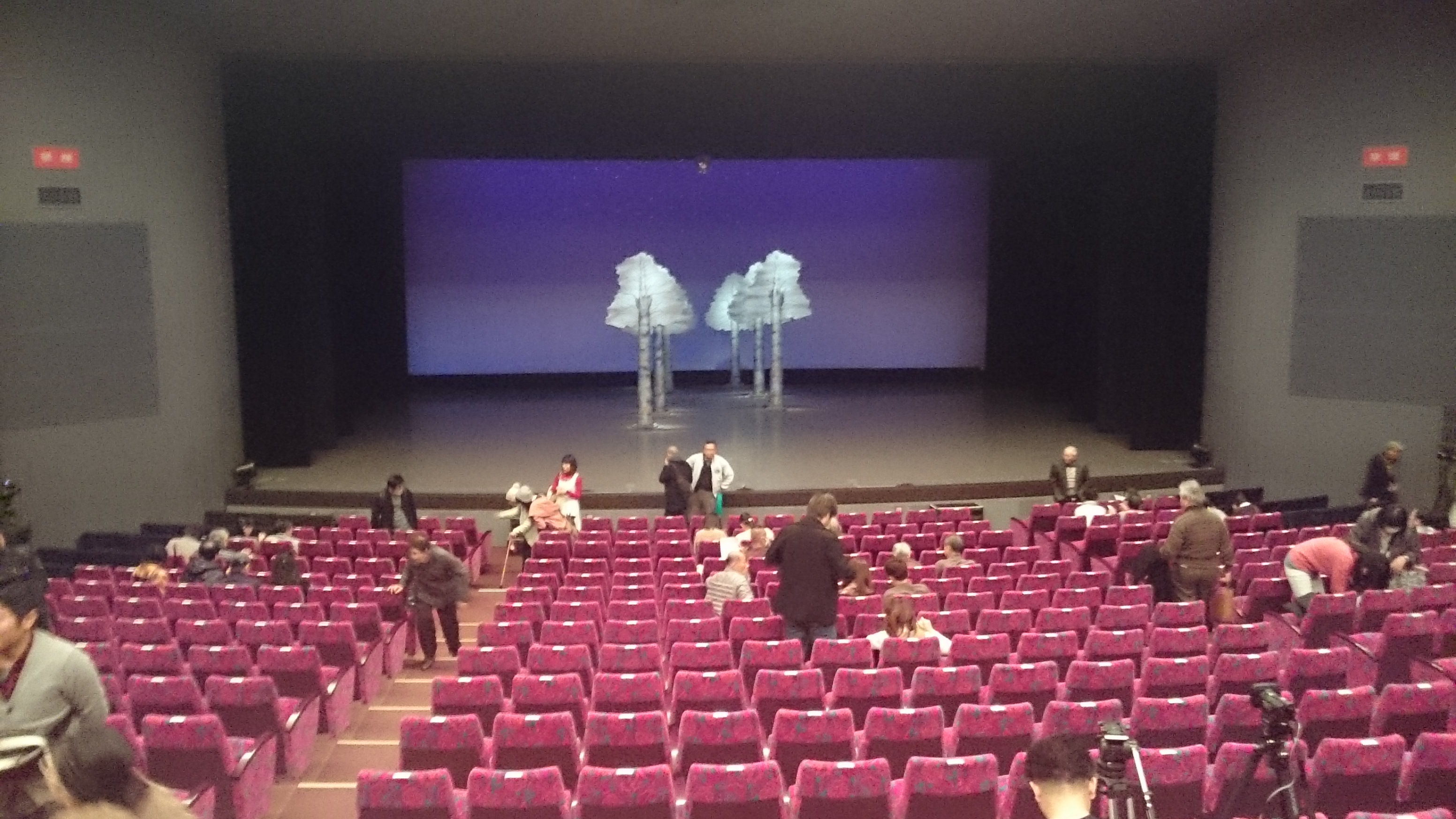 シアタードラマシティの舞台