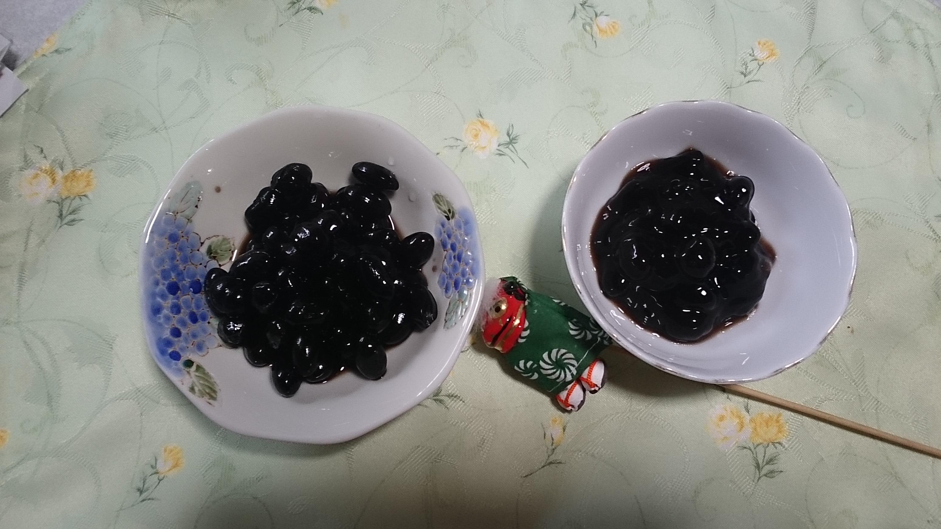 丹波の黒豆/鍋炊きと圧力鍋!