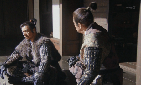 お館様・武田勝頼が岩櫃城に来ないことを知らされた真田昌幸