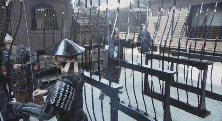 織田信長との面会に待たされ、織田軍が陣を張る法華寺をウロウロする信繁