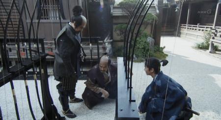 ここで将来闘うことになる徳川家康と初対面です。 真田丸