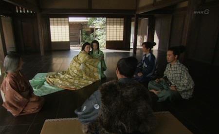 娘・松を人質にだすことを嫌がるお母様 真田丸