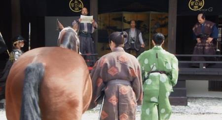 後日、アドバイス通りに馬を進呈する真田信幸