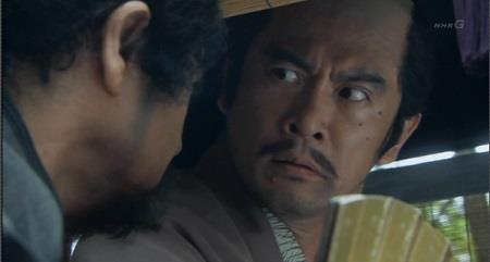 明智光秀と聞いて驚く徳川家康 真田丸