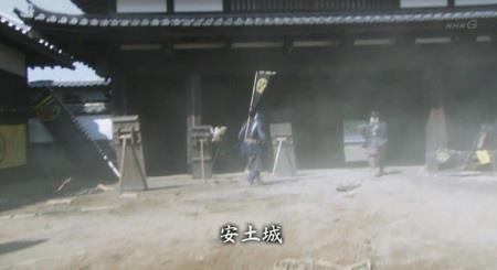 信繁たちは、松を救うべく安土城に向かいます。 真田丸