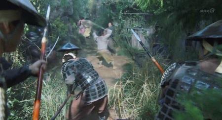 結局明智軍に見つかってしまいました。 真田丸