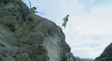 飛び降りる松 真田丸