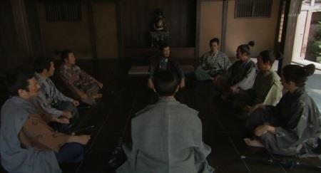 小県(ちいさがた)の国衆たちと会合する真田昌幸 真田丸