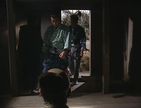地炉の間に真田兄弟も到着 真田太平記
