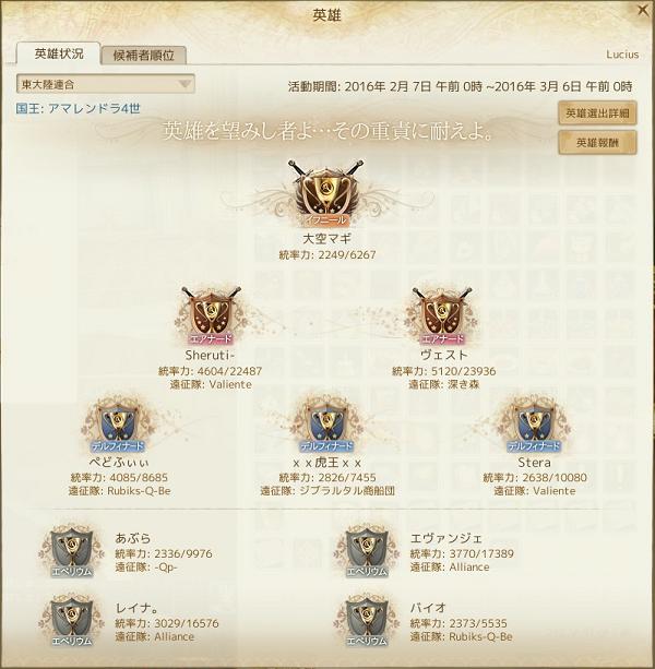 2月6日東新英雄