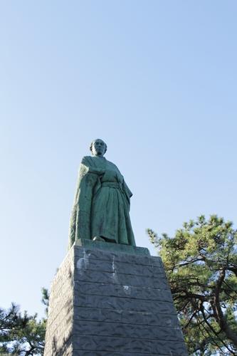桂浜龍馬像