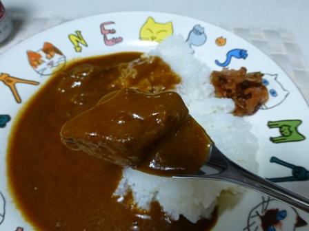 柿安豚角煮カレー7