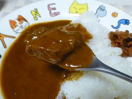 柿安豚角煮カレー9