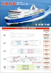 佐渡汽船-ときわ丸