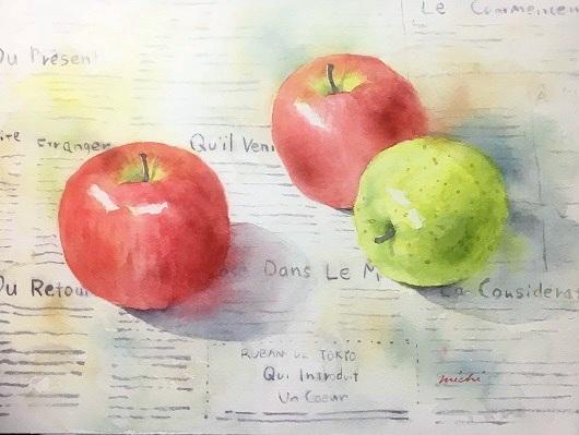 りんご3個A