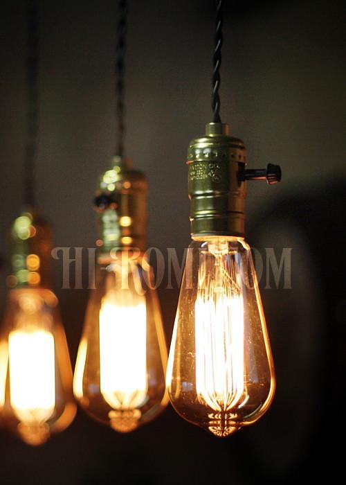 レプリカ球 ソケット ランプ エジソン球 レトロ 店舗設計 デザイン 照明 計画