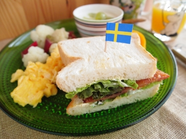 ham cutlet toast sandwich