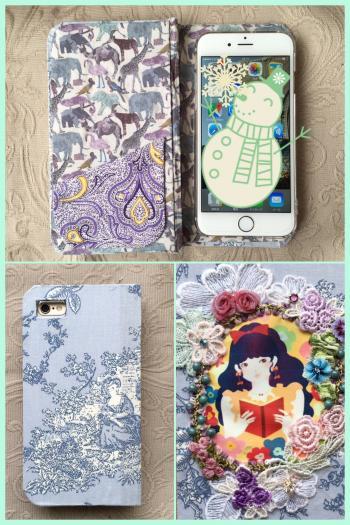 ブック型iphoneケース (1)