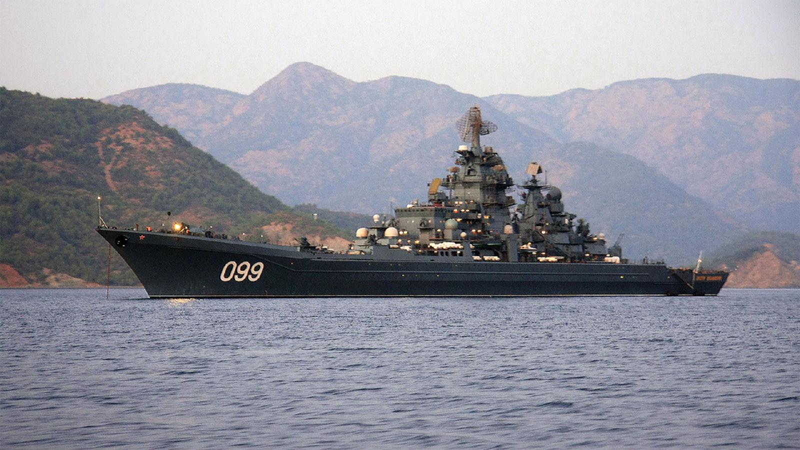ロシア海軍の重原子力ロケット巡...