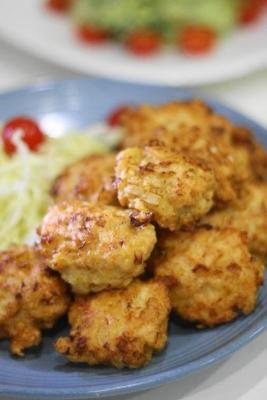 鶏胸肉と長ねぎの和風ナゲット1