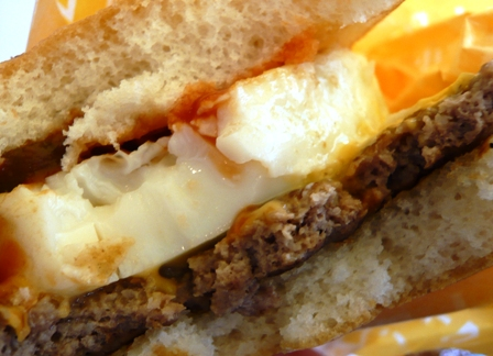 マクドナルド:エッグチーズバーガー2