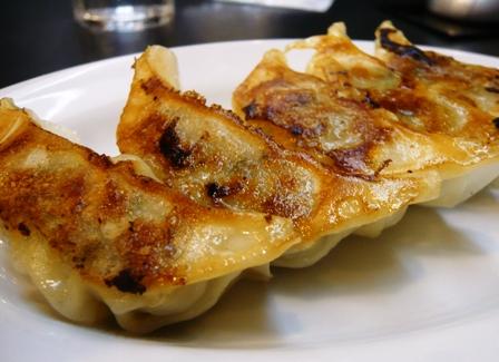 三河開化亭:黒豚餃子1